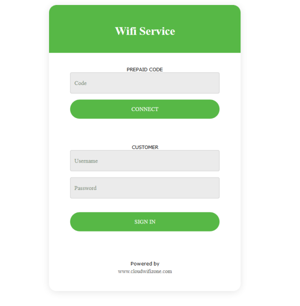 Wifi Hotspot Captive Portal Cloud Based Management System